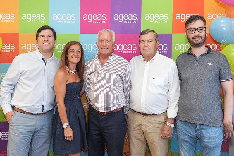 equipa AGE com o CEO Ageas Seguros